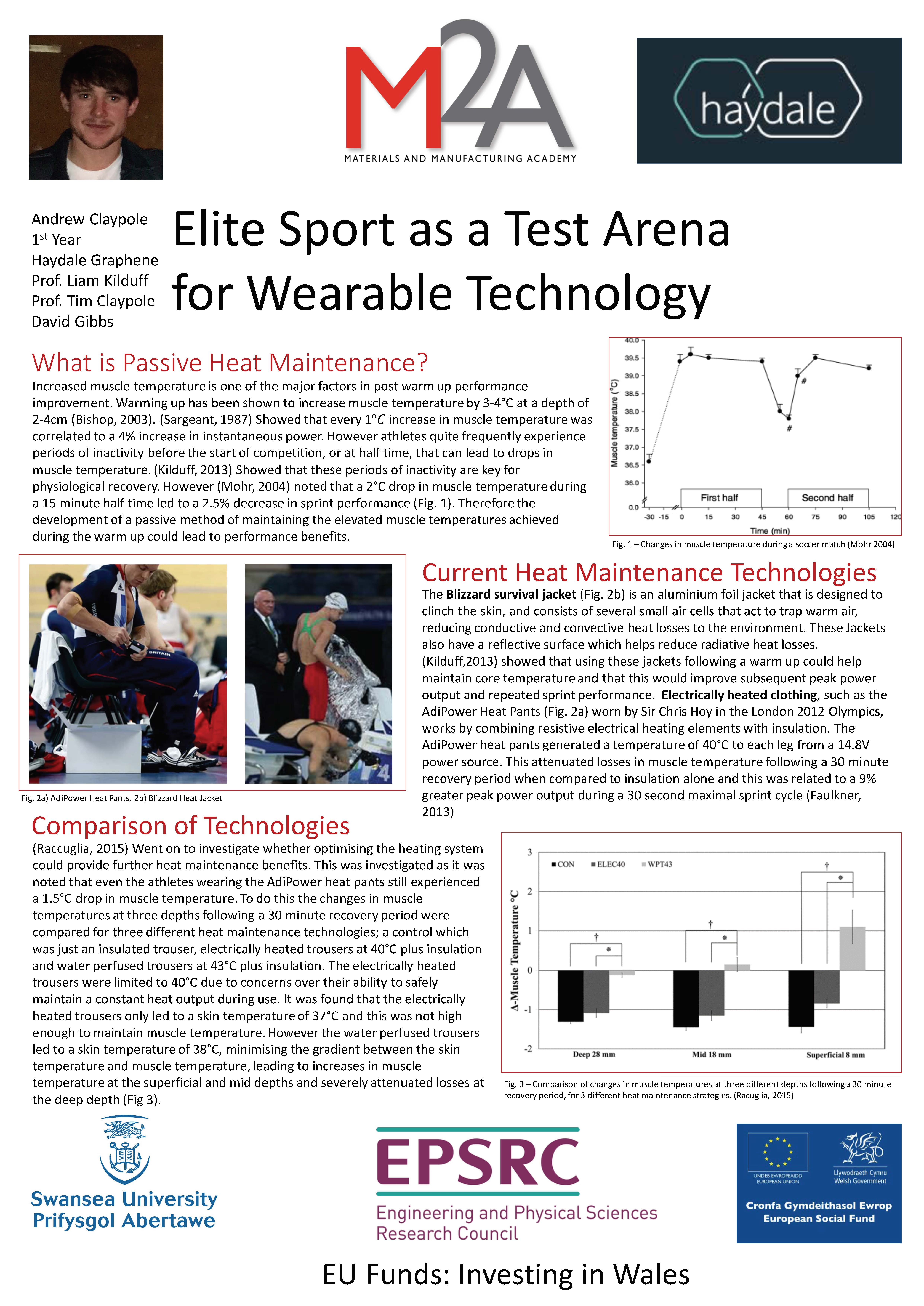 Elite Sport as a Test Arena for Wearable Technology