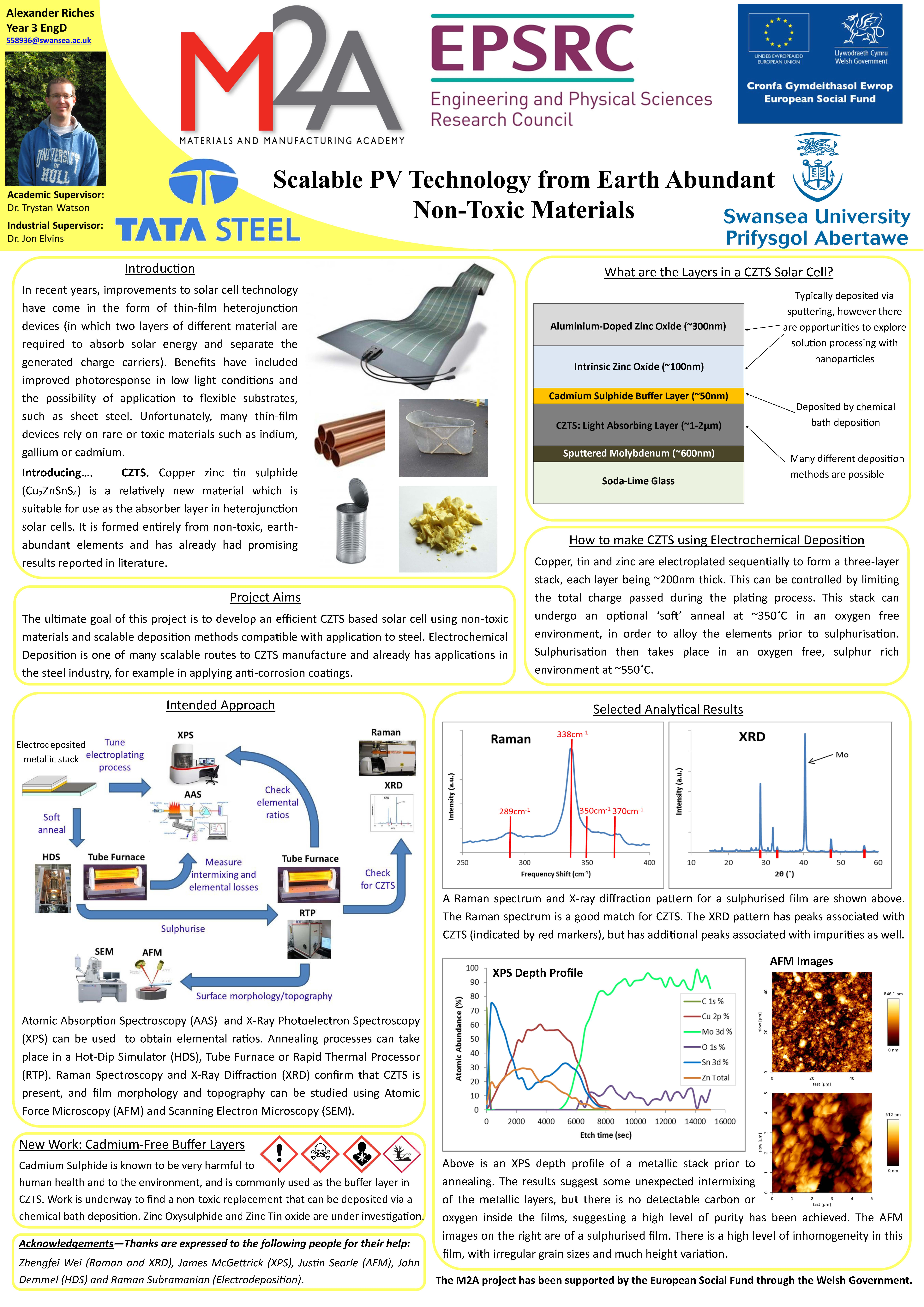Scalable PV Technology from Earth Abundant Non-Toxic Materials
